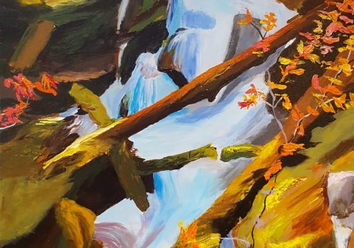 MARC PROVENCHER -Troll Falls in the Fall