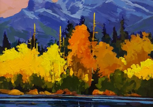 Wendy Johnsen - Three Sisters in the Fall